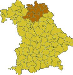 Oberfranken vom Bayern