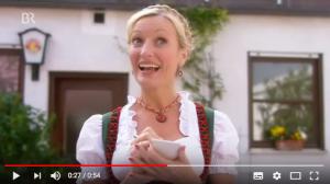 Paulaner Werbung Sprachproblem im Biergarten