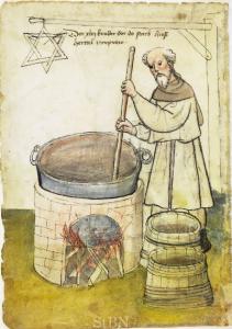 Mittelalter Bier Brauen