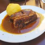 【ドイツグルメ】フランケン名物肉料理ショイフェラ