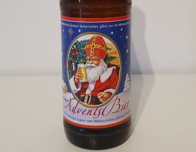 ドイツから期間限定のクリスマスビール