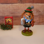 ドイツ・クリスマス土産の木製のお香人形